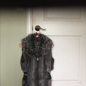 Guess fur vest jacket